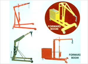 Hydraulic Portable Floor Cranes