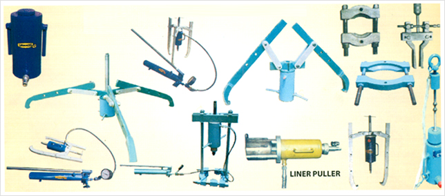 Hydraulic Pullers & Attachments